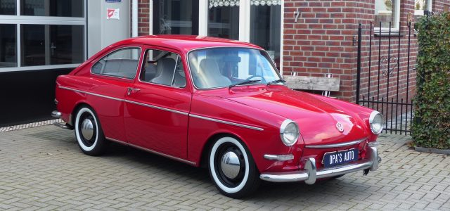 VW 1600 TL fastback